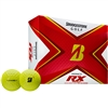 Bridgestone Tour B RX 2020 Yellow Golf Ball - 1 Dozen