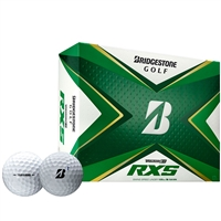 Bridgestone Tour B RXS 2020 White Golf Ball - 1 Dozen