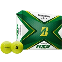 Bridgestone Tour B RXS 2020 Yellow Golf Ball - 1 Dozen