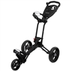 Bag Boy EZ Walk Push Cart - Black/Charcoal