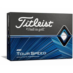 Titleist Tour Speed Golf Ball - 1 Dozen