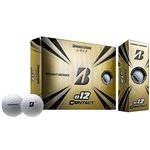 Bridgestone e12 Contact White Golf Balls - 1 Dozen
