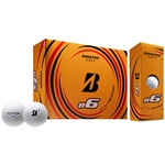 Bridgestone e6 White Golf Balls - 1 Dozen