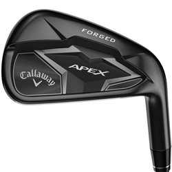 Callaway Apex 19 Smoke Iron Set - Steel Shaft