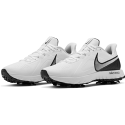 Nike React Infinity Pro Golf Shoe - White/Black