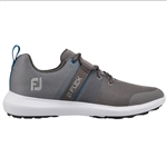 FootJoy FJ Flex Men's Golf Shoes - Grey/Blue
