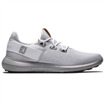 FootJoy FJ Flex Coastal Men's Golf Shoes - White/Grey