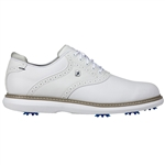 FootJoy Traditions Men's Golf Shoes - White/Grey