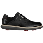 FootJoy Traditions Men's Golf Shoes - Black/Grey
