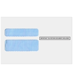 W-2 2UP Double Window Envelope - Self Adhesive