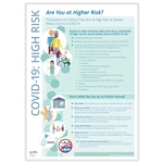 Covid-19 Protect Yourself if You Are High Risk Poster