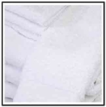 16x27 White Hand Towel