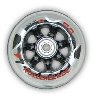 Rollerblade RB Skate Wheels 90mm 84A w/ SG9 Brgs - 8 pack