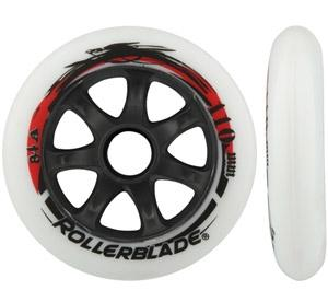 Rollerblade Spiral HP Wheels 110mm 84A 8pk - 8 pack