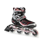 Rollerblade Men's Black & Red Tempest 90 Skates