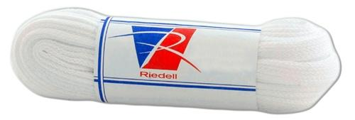 Riedell Textured Poly Lace White 90""