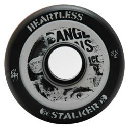 Heartless Derby Skate Wheels Stalker Black - 62mm x 34mm x 88a set of four