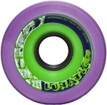B'Zerk Derby Skate Wheels Lunatic - 62mm x 44mm x 98a - 4 set