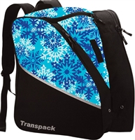 Transpack Ice Skate Bag Snowflake
