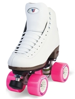 Riedell 120 W Celebrity Outdoor Roller Skates white wide width