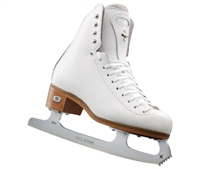Riedell Ice Skates 255 Motion White Astra Blade