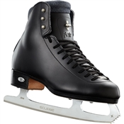 Riedell Ice Skates 910 Flair Black with Crescent Blade
