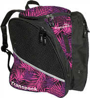 Transpack Ice Skate Bag Pink/Purple/Black Palm