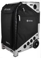 ZUCA Pro Travel Bag Black and silver with wheels Full Set