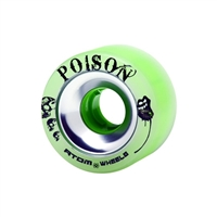 Atom Poison Alloy 62mm Wheels