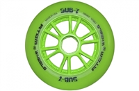 Atom Wheels Sub 7 Inline Race Wheels X firm - 110mm - each