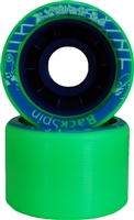 Backspin Scribble Skate Wheels - 62mm x 42mm x 91A - 8
