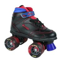 Chicago 105 Big Wheel Boys Roller Skate - Black