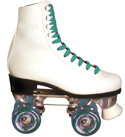 Motion Rollers Chicago 800 roller skates womens used for outdoor skating.