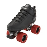 Riedell Dart Speed Skates - Black