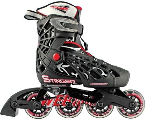 Kid's skates Roller Derby Web Stinger Adjustable boys