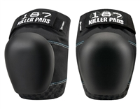 187 Killer Pro Derby Knee Pads - Black