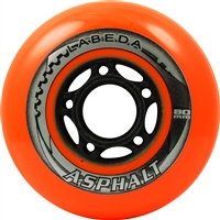Labeda Asphalt Inline Skate Wheels  assorted sizes - 4 pack
