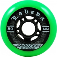 Labeda Shooter Hockey Wheels assorted sizes - 8 Pack