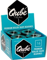 Qube Roller Skate Bearings Teal