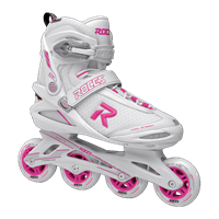 Roces Icon Women's Inline Skate- Pink/White