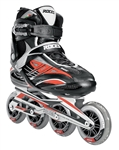 Roces Y300 Inline Skate - BLK/RED