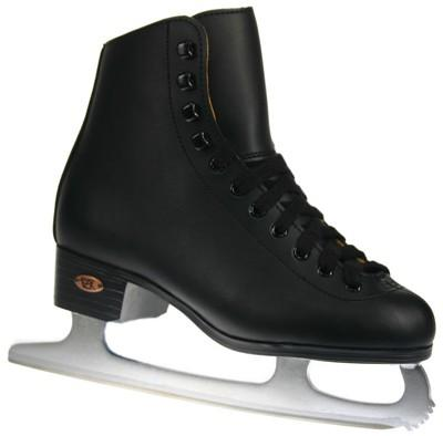 Riedell Ice Skates Boys Black Super Deal Junior 9