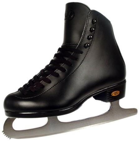 Riedell Red Ribbon 17 Black Ice skates. Ice skates from Riedell. Entry level ice skates