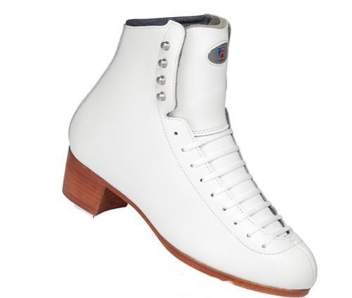 Riedell 29 TS Junior Ice Skate White Boot