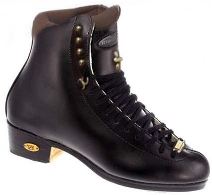 Riedell 91 LS Figure Boots Junior Black