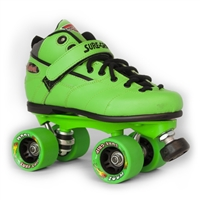 Sure-grip deluxe Green Jelly Bean Roller Skates