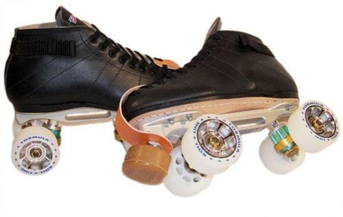Roll Line Derby Energy Gold Complete Skates