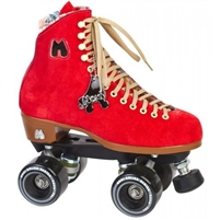 Riedell Roller Skates Moxi Lolly Poppy Red