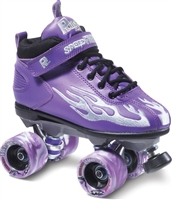 Purple Derby Skates