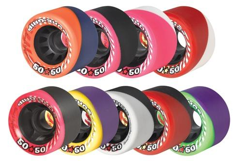 Sure-Grip 50 50 skate wheels for speed